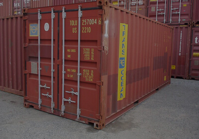20 ft container to Indian subcontinent