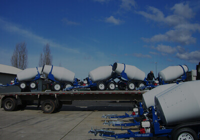 Concrete Mixer Shipping to India