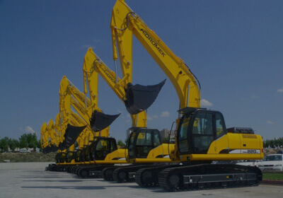 Excavators Shipping to Indian subcontinent