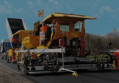 Road and Paving Machine Shipping to Indian subcontinent