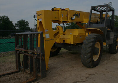 Telehandler Shipping to India